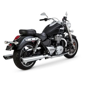 Vance & Hines Twin Slash Round Slip-On Mufflers For Triumph Thunderbird 2014-2017