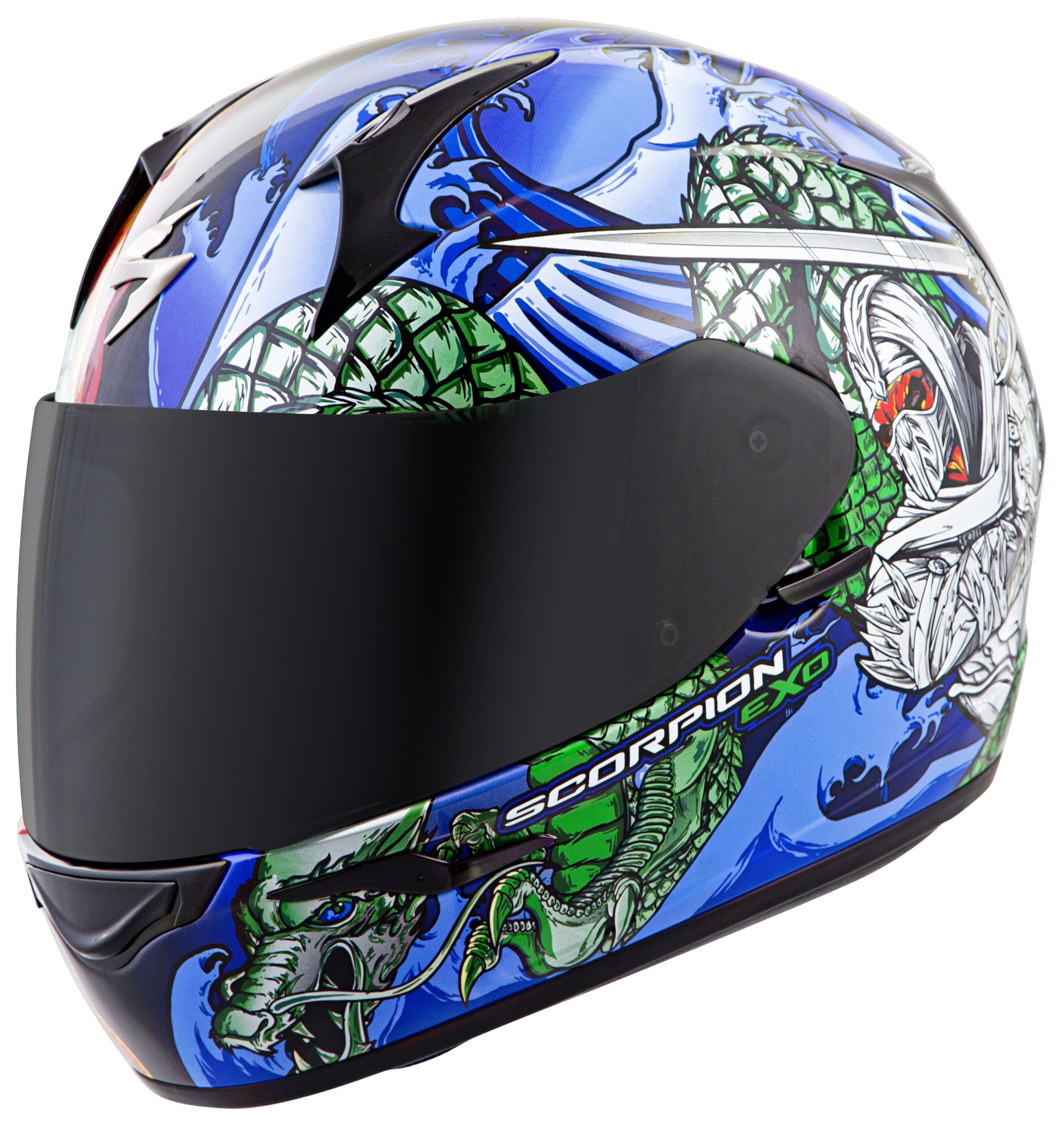 scorpion exo r410 bushido helmet revzilla. Black Bedroom Furniture Sets. Home Design Ideas