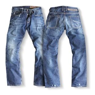 Rokker Rebel Jeans Stone Wash / 42X36 [Open Box]