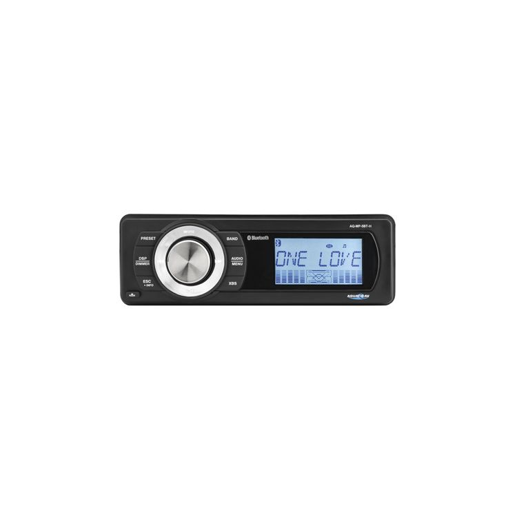 Aquatic AV Bluetooth Stereo For Harley Touring 1998-2013