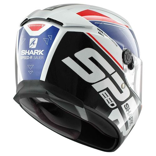 shark speed r series 2 sauer helmet revzilla. Black Bedroom Furniture Sets. Home Design Ideas