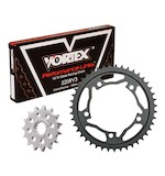 Vortex V3 Chain And Sprocket Kit Suzuki GSXR 1000 2007-2008 16/43 / RV3 Black Chain/Black Aluminum Sp... [Open Box]