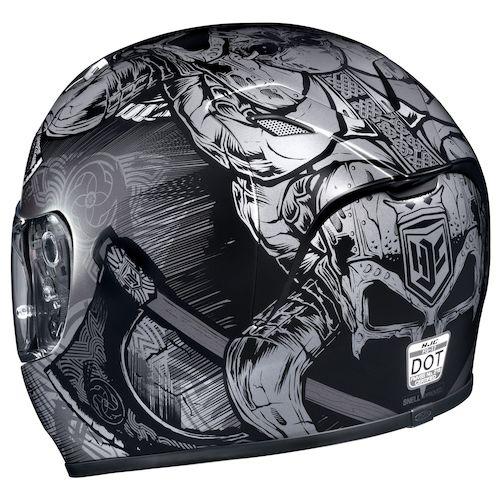 hjc fg 17 valhalla helmet revzilla. Black Bedroom Furniture Sets. Home Design Ideas