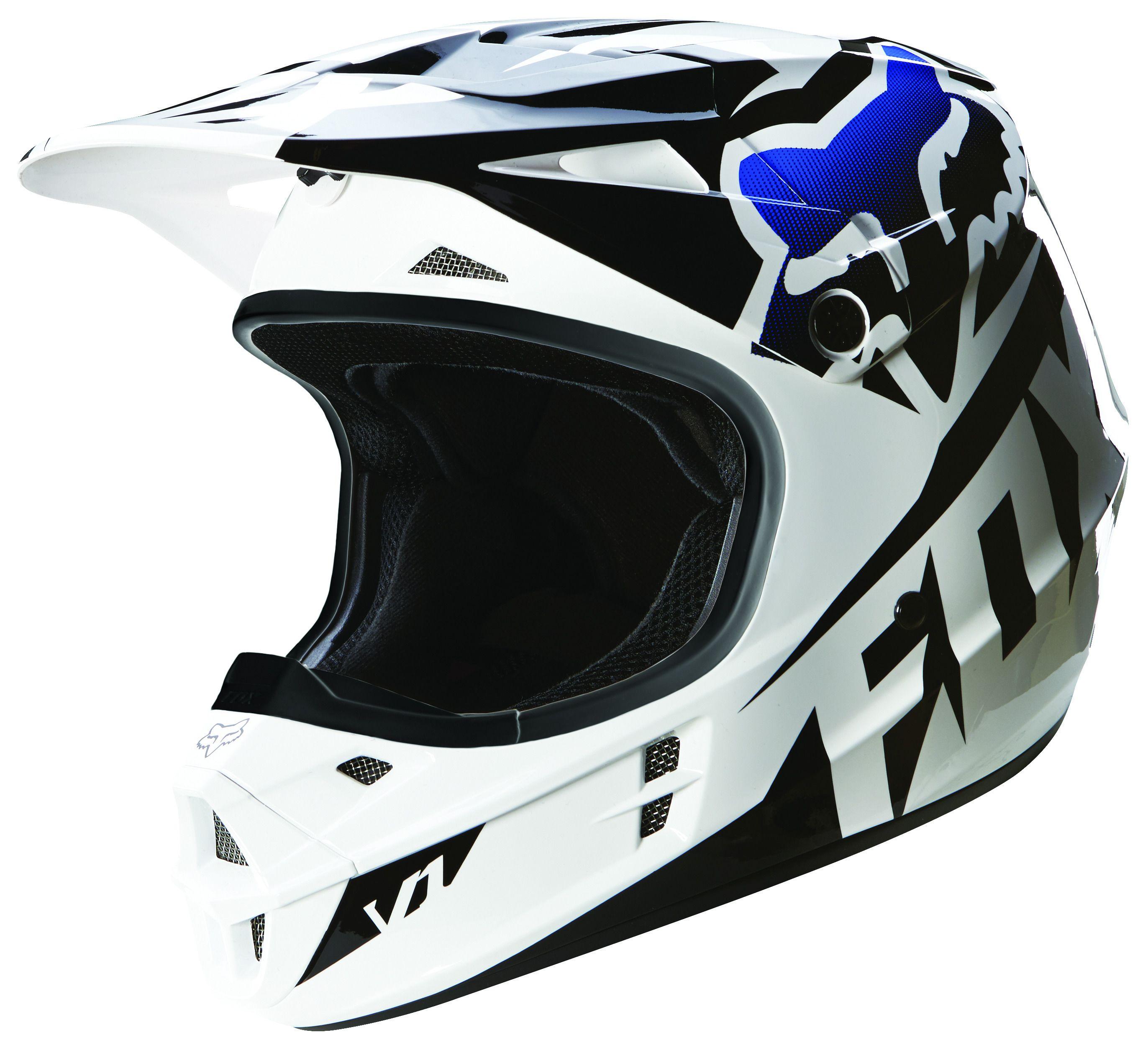 Fox Racing V1 Race Helmet Revzilla