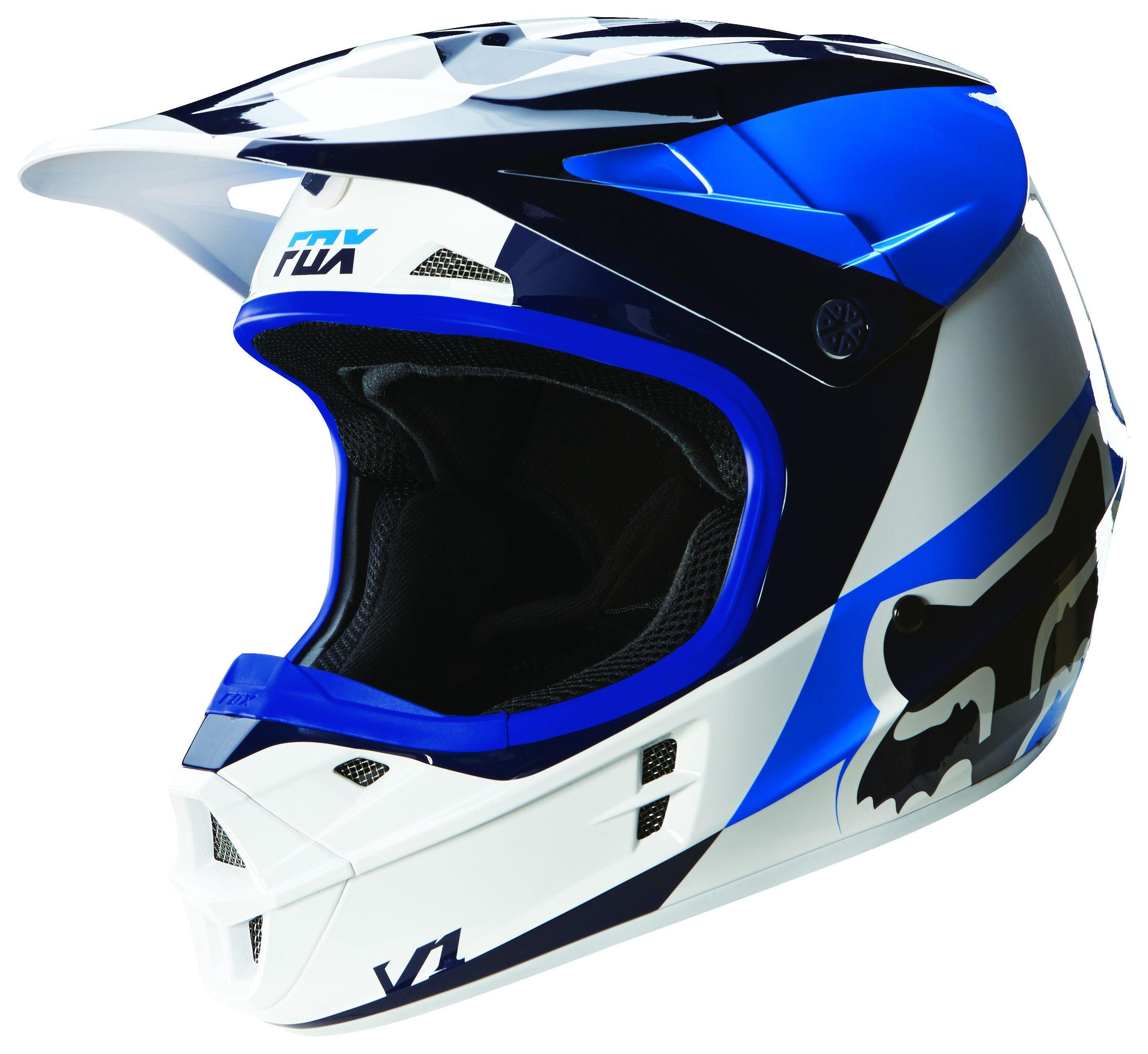 Fox Racing V1 Mako Helmet Revzilla
