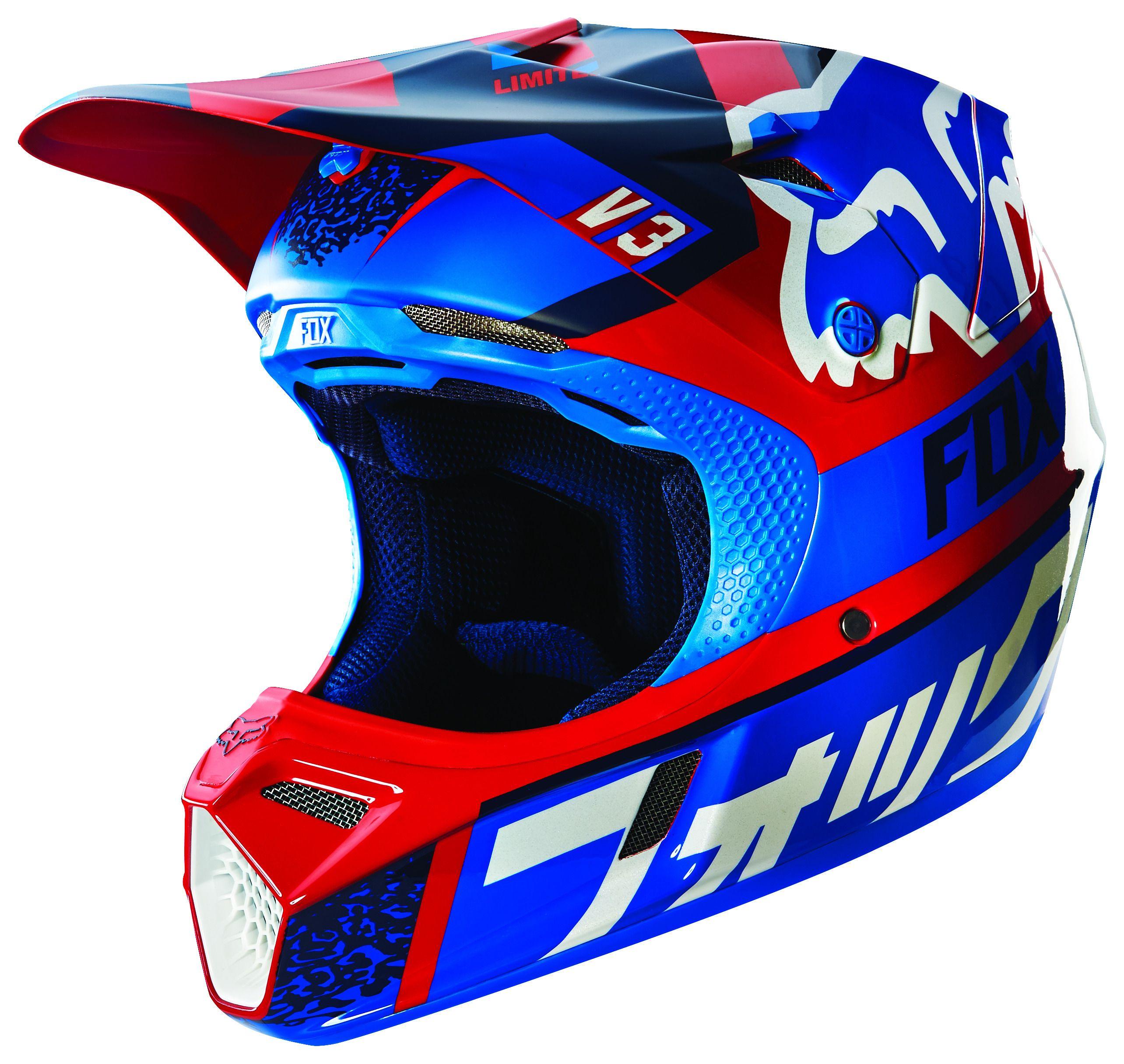 Fox Racing V3 Divizion Helmet Revzilla