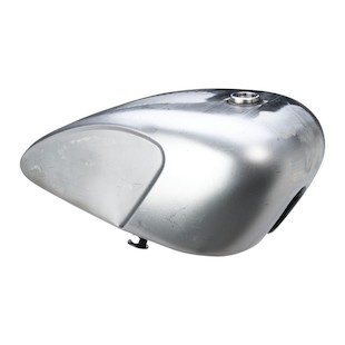 Drag Specialties Legacy Indented Cafe Gas Tank