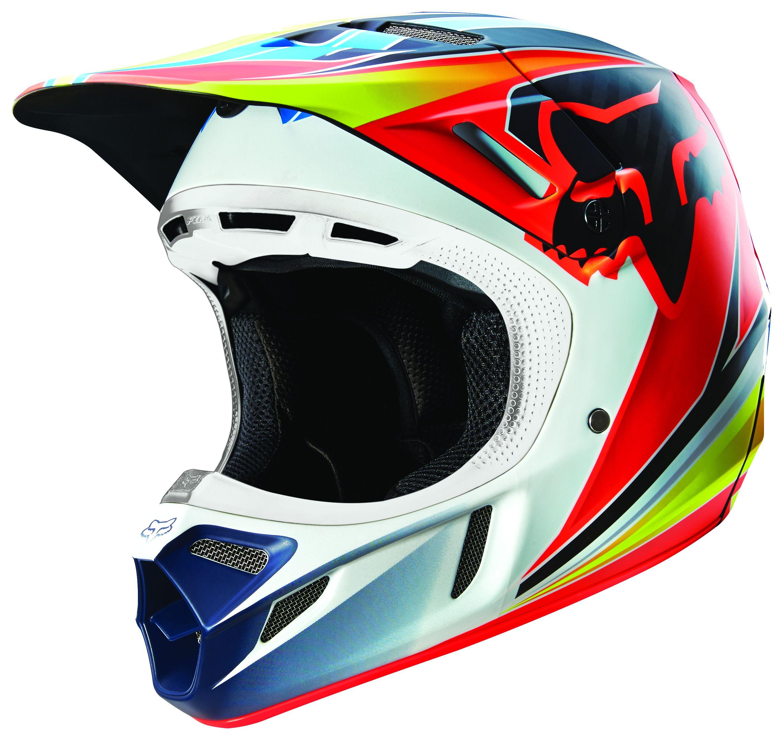 fox racing v4 race helmet revzilla. Black Bedroom Furniture Sets. Home Design Ideas
