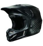 Fox Racing V4 Matte Carbon Helmet (Size LG Only)