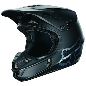 Fox Racing V1 Matte Black Helmet