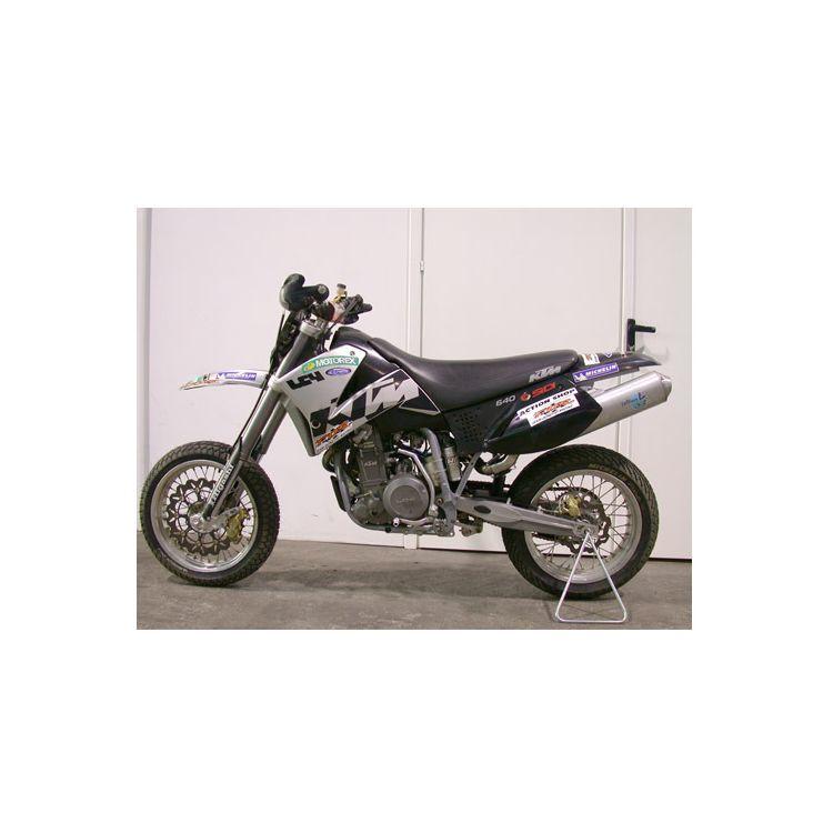 leovince x3 slip on exhaust ktm 640 lc4 2003 2004 revzilla rh revzilla com KTM LC4 640 Parts KTM 640 Adventure Craigslist