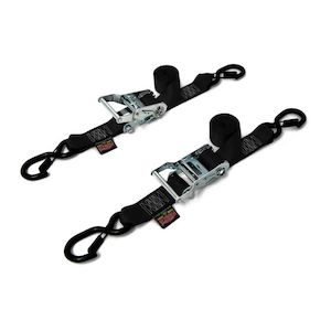 "PowerTye 1.5"" Fat Strap Ratchet Tie-Downs"