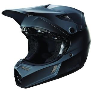 Fox Racing Youth V3 Matte Black Helmet