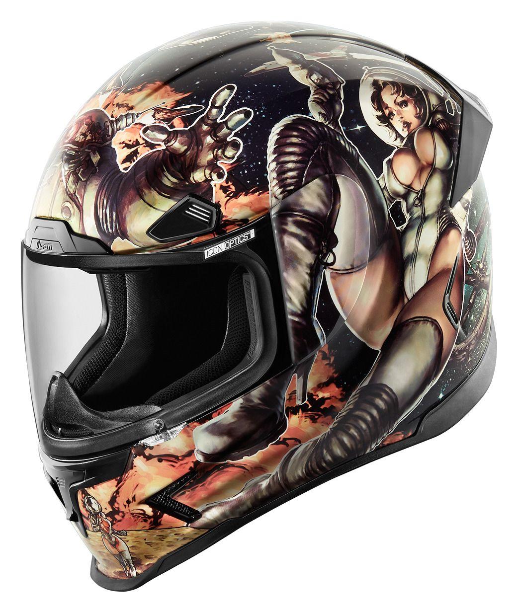Icon Airframe Pro Pleasuredome 2 Helmet Sz Xs Only