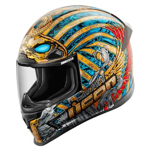 Icon Airframe Pro Pharaoh Motorcycle Helmet