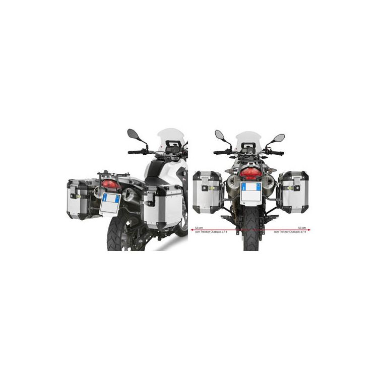 givi pl5101cam side case racks bmw g650gs 2012 2016 10. Black Bedroom Furniture Sets. Home Design Ideas