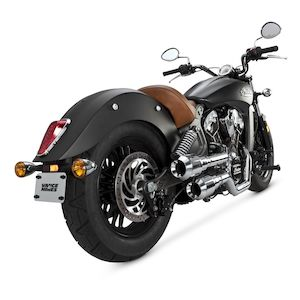 Vance & Hines Grenades Hi-Output Exhaust For Indian Scout 2015-2018