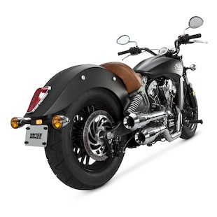 Vance & Hines Grenades Hi-Output Exhaust For Indian Scout 2015-2016