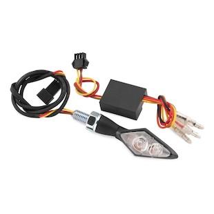 Bike Master Mini LED Turn Signals With Resistors