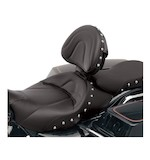 Saddlemen Renegade Deluxe Solo Seat Driver Backrest For Harley Touring