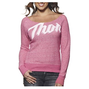 Thor Script Scoop Neck Women's Shirt