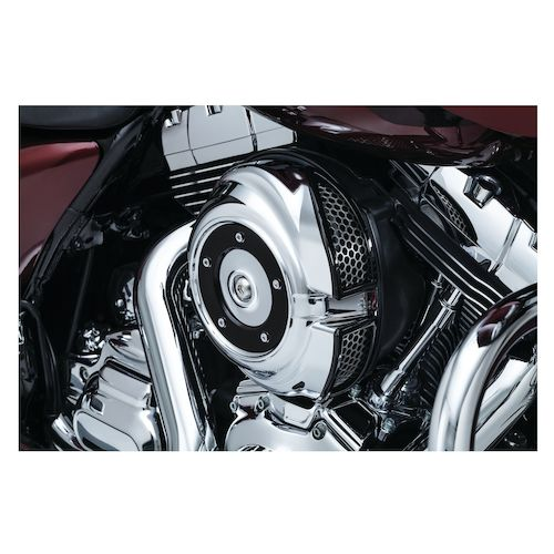 Motorcycle Air Cleaner Covers : Kuryakyn quantum air cleaner cover for harley touring