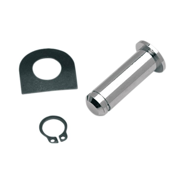 Drag Specialties Chrome Footpeg Mounting Pins For Harley