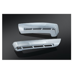Kuryakyn Tri-Line Accents For Side Tour-Pak Lights For Harley Touring 2014-2017