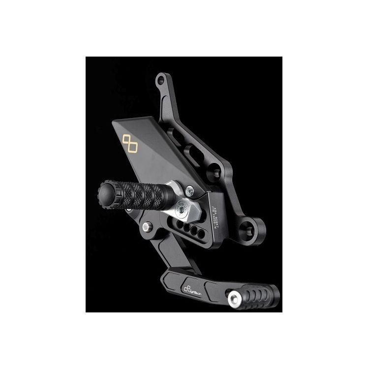 Lightech Track System Rearsets Yamaha FZ-07 / MT-07 / XSR700