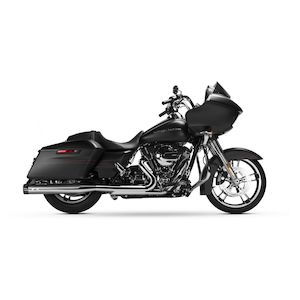 """MagnaFlow Knockout 4"""" Slip-On Mufflers For Harley Touring 1995-2016"""
