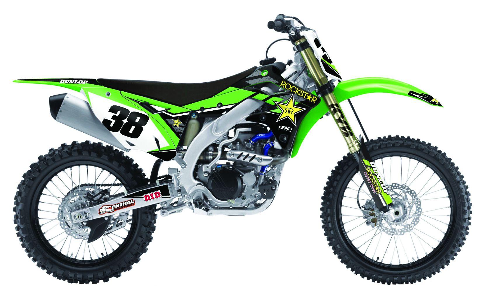 Kawasaki Kx Graphics