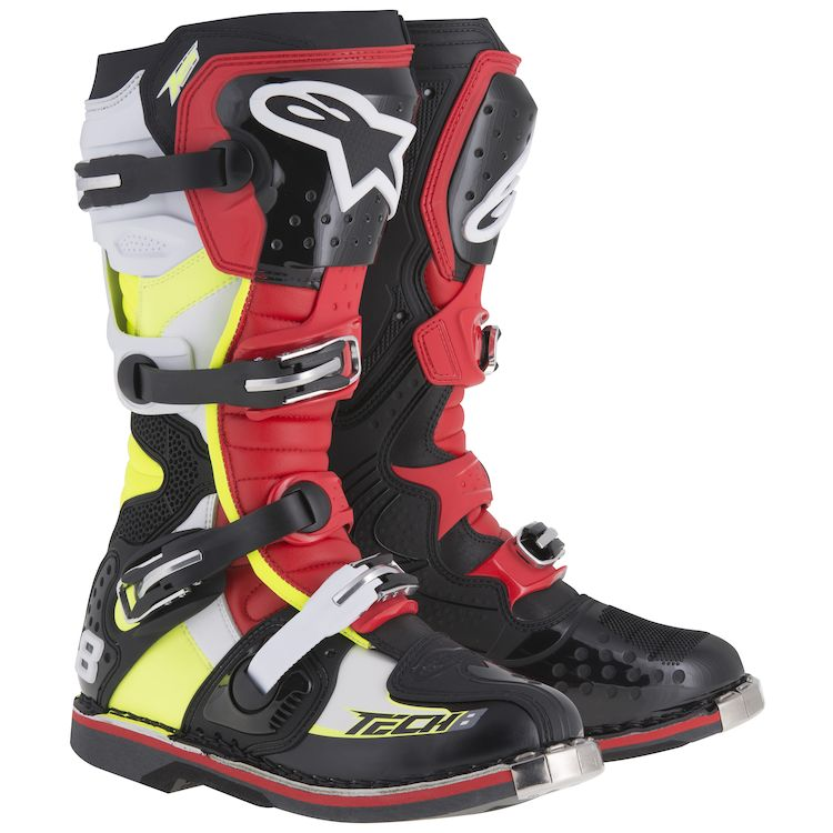 Black/Red/Fluo Yellow