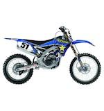 Factory Effex Rockstar Shroud / Airbox Graphics Kit Yamaha YZ250F / YZ450F / WR250F / WR450F 2003-2006