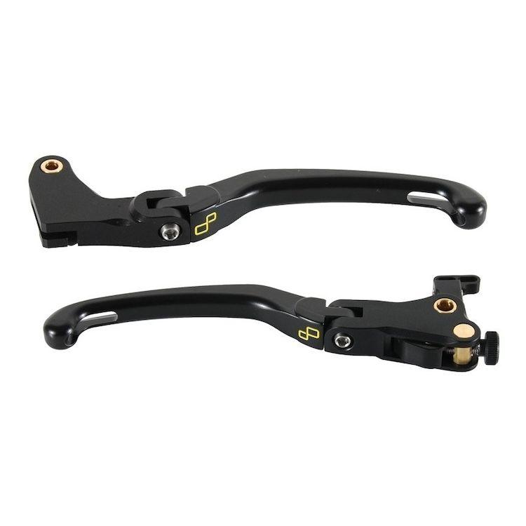 LighTech Magnesium Folding Brake & Clutch Lever Kit Daytona 675 / Street Triple R