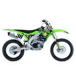 Factory Effex Rockstar Shroud / Airbox Graphics Kit Kawasaki KX85 / KX100 2001-2013