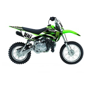 Factory Effex Complete Monster Energy Graphics Kit Kawasaki 110cc 2010-2017