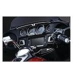 Bahn Gauge Accents For Harley Touring 2014-2015