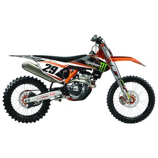 Factory Effex Complete Monster Energy Graphics Kit KTM SX-F / XC 125cc-450cc 2013-2016