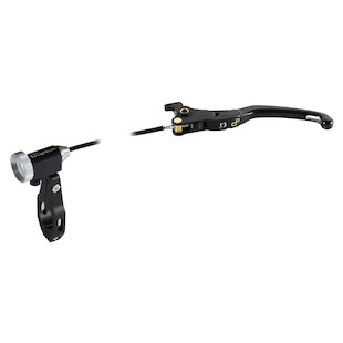 LighTech Magnesium Folding Brake Lever With Remote Adjuster For Brembo Master Cylinder