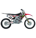 Factory Effex Monster Energy Shroud / Airbox Graphics Kit Honda CRF450R 2005-2008