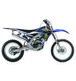 Factory Effex Monster Energy Shroud / Airbox Graphics Kit Yamaha YZ125 / YZ250 2002-2014