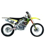 Factory Effex Monster Energy Shroud / Airbox Graphics Kit Suzuki RM125 / RM250 2001-2008