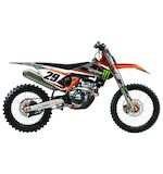 Factory Effex Monster Energy Shroud / Airbox Graphics Kit KTM SX-F / XC 125cc-450cc 2011-2012