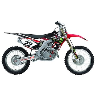 Factory Effex Monster Energy Shroud / Airbox Graphics Kit