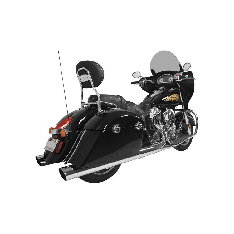 "Rush Exhaust 4"" Performance Slip On For Indian 2014-2016"