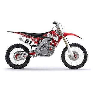 Factory Effex Metal Mulisha Shroud / Airbox Graphics Kit Honda CRF250R / CRF450R 2009-2013