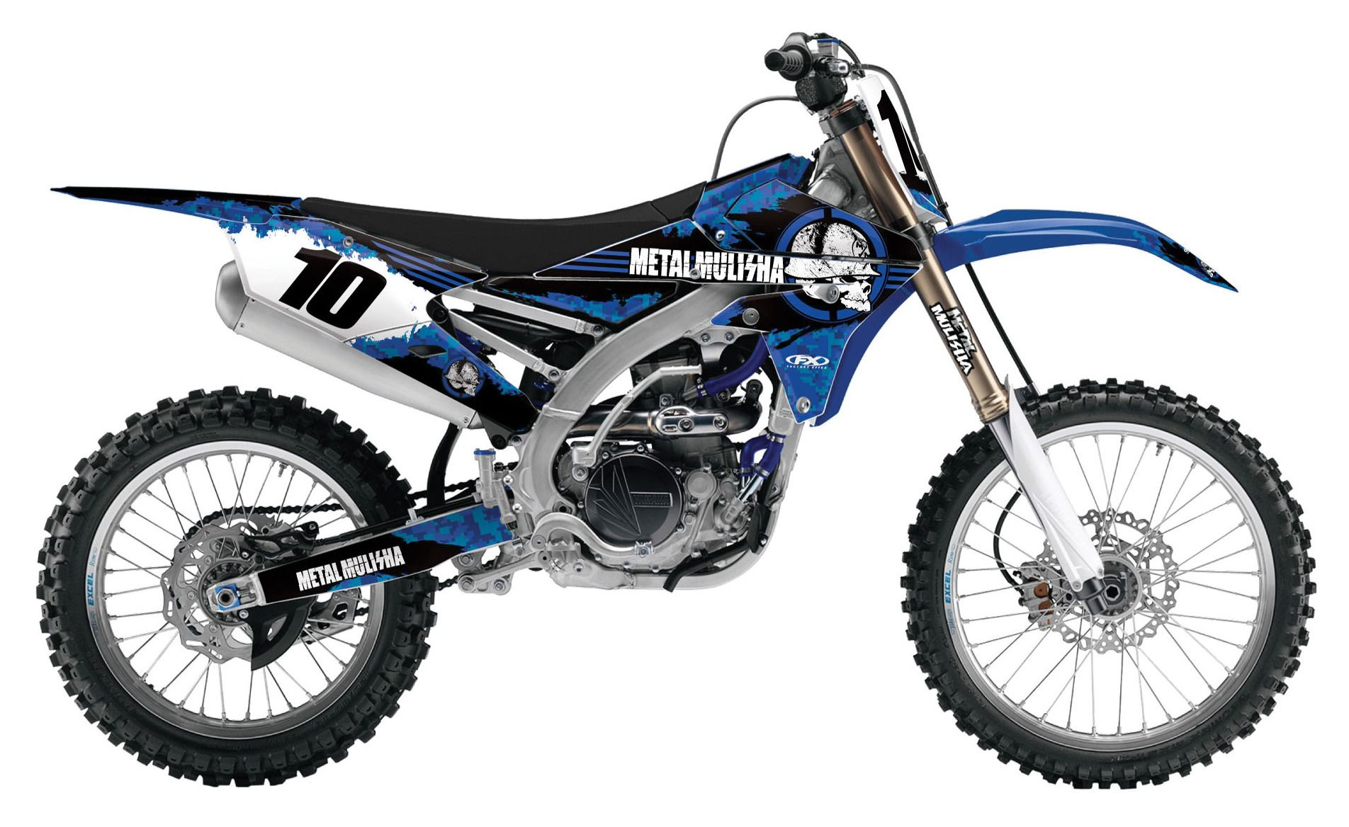 Metal Mulisha Graphics Yamaha Yzf
