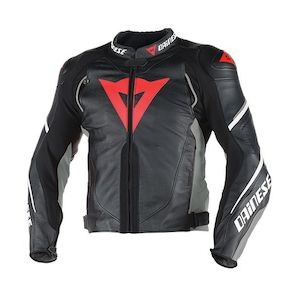 Shop dainese leather motorcycle jackets online revzilla for D garage dainese corbeil horaires