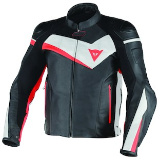Dainese Veloster Leather Motorcycle Jacket