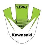 Factory Effex Front Fender Graphic Kawasaki KX80 / KX85 / KX100 1990-2013